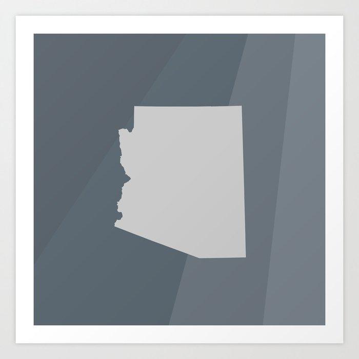 Arizona State Art Print