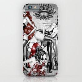Sensual Carnage iPhone Case