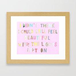 tenderqueerthings #4 Framed Art Print