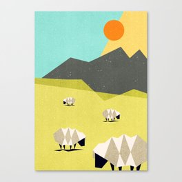 Our land Canvas Print