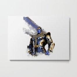 Thanos digital artwork Metal Print