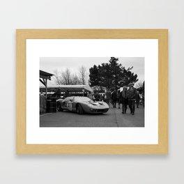 Ford GT40 Framed Art Print