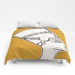 Queen Nefertiti Comforters