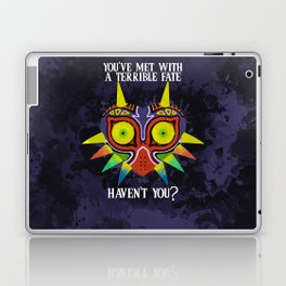Majora's Mask Splatter (Quote) Laptop & iPad Skin