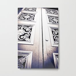 Don't Come A' Knockin' Metal Print