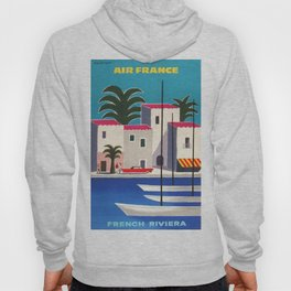 Vintage poster - French Riviera Hoody