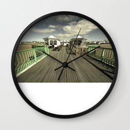 The pier at St Annes on sea Wall Clock