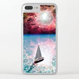 Adrift... Clear iPhone Case