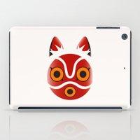 princess mononoke iPad Cases featuring Mononoke by Miss Phi