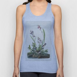 Field Sparrow from Birds of America (1827) by John James Audubon etched by William Home Lizars Unisex Tank Top
