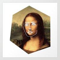 Mona Disclosure Art Print