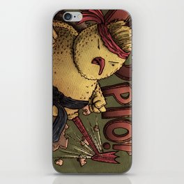 Let's see who eats who iPhone Skin
