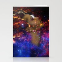 astronomy Stationery Cards featuring SXC Astronomy P1 by Skankotron