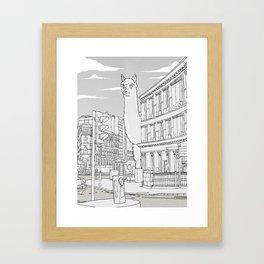Llamondon Framed Art Print