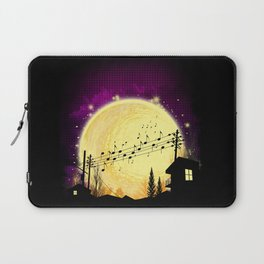 night and note Laptop Sleeve