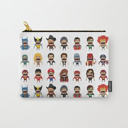 Screaming Heroes Carry-All Pouch