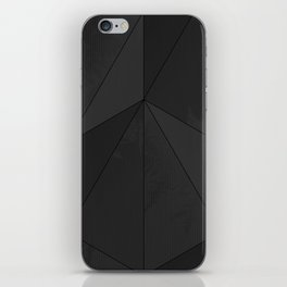 black verticals iPhone Skin