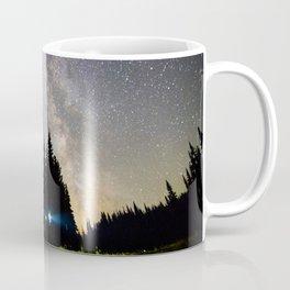 Milky Way at Mount Rainier, Washington Coffee Mug
