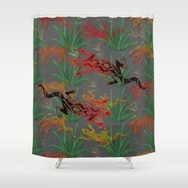 Desert Pattern Shower Curtain