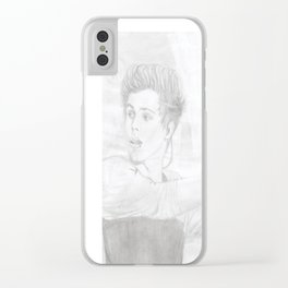 Luke 5 Seconds in Concert Drawing Clear iPhone Case