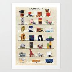 archist city Art Print