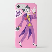the joker iPhone & iPod Cases featuring Joker by MalevolentMask