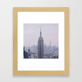 Empire State Building – New York City Framed Art Print