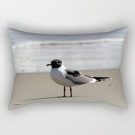 Ocracoke Seagull  1 Rectangular Pillow