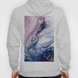 fluid 008 , abstract painting Hoody