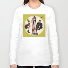 Upside Down Long Sleeve T-shirt