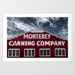 Monterey Canning Company Art Print