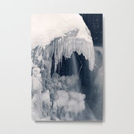 Susquehanna Ice Reaper Metal Print