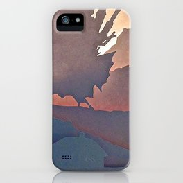 Owl's moving castle iPhone Case