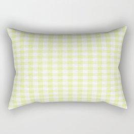 Cactus Garden Gingham 2 Rectangular Pillow