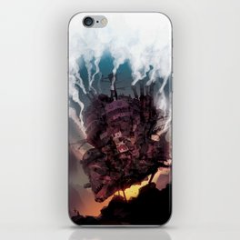 That castles moving.... iPhone Skin