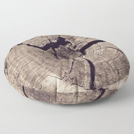 Cracks in Time - Photography #Society6 Floor Pillow
