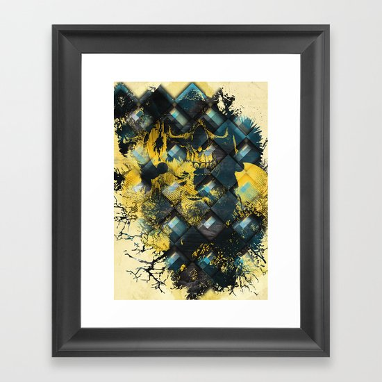 Abstract Thinking Remix Framed Art Print