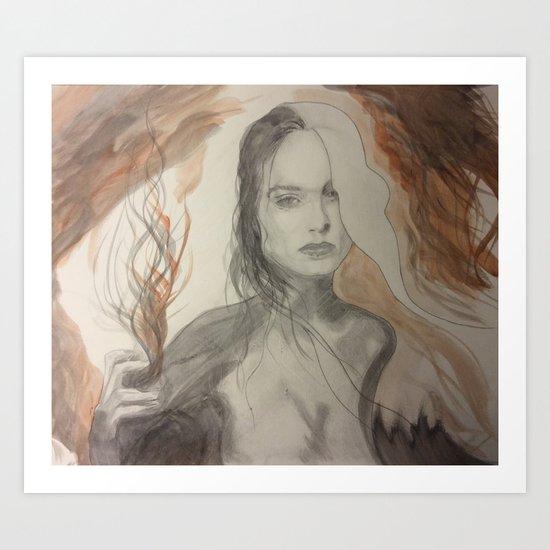 The Sorceress Art Print