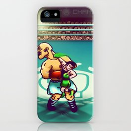 Punch-Out!! iPhone Case