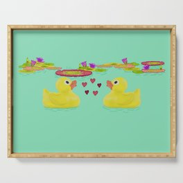 Duckies Serving Tray