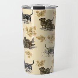 Dachshunds pattern Travel Mug