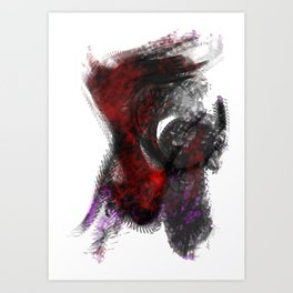 Vast2: Cardiac Art Print