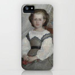 Mademoiselle Romaine Lascaux iPhone Case