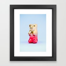 Haribo Goldbär Framed Art Print