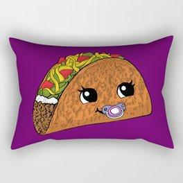 Baby Taco Rectangular Pillow