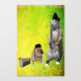 B-Boy Rodents Canvas Print