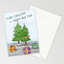 Merry Christmas and a Happy New Year! Stationery Cards