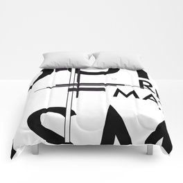 History of Art in Black and White. Suprematism Comforters