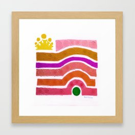 :: Princess n' Pea :: Framed Art Print