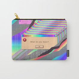 Error Tab Vaporwave Carry-All Pouch